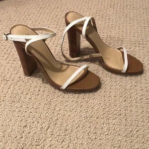 Victoria's Secret Heels - White - Size 7